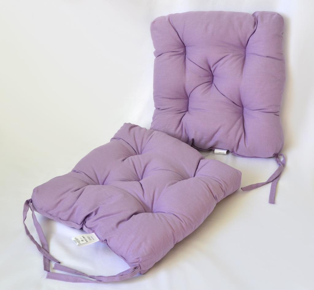 Подушка на стул Monat цвет: фиолетовый (35х35 (2 шт))