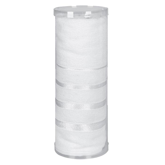 Полотенца Soavita, Полотенце Шантони Цвет: Белый (65х138 см), Китай, Махра  - Купить
