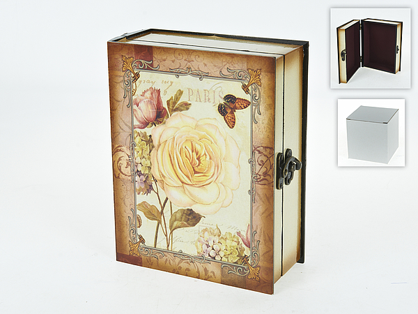 Шкатулки ENS GROUP Шкатулка Чайная Роза (8х19х24 см) ens group шкатулка чайная роза 10х18х18 см