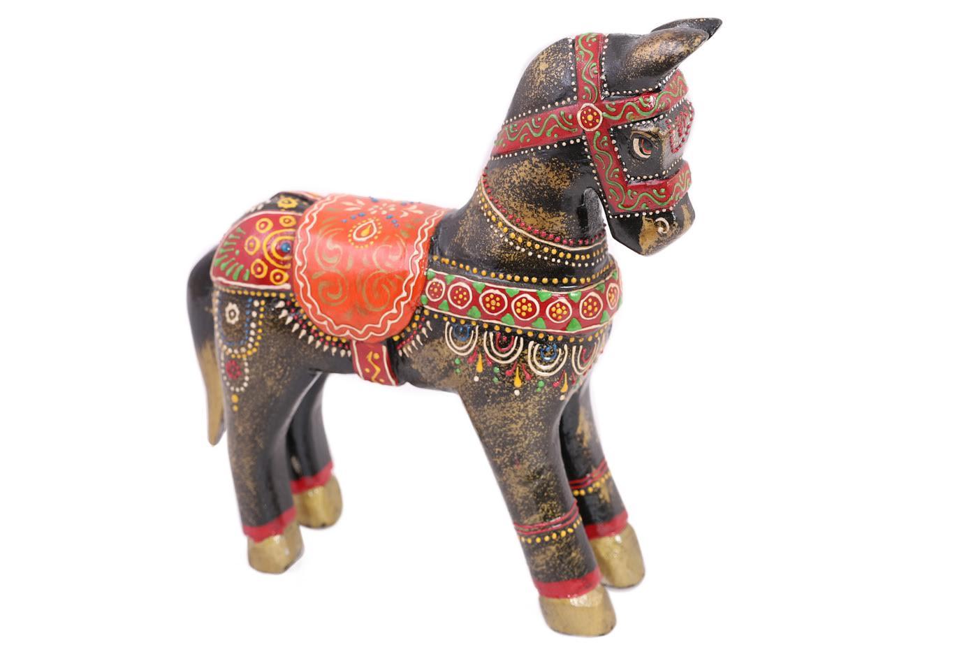 Фигурка Лошадь Цвет: Мультиколор (6х21х22 см) фото