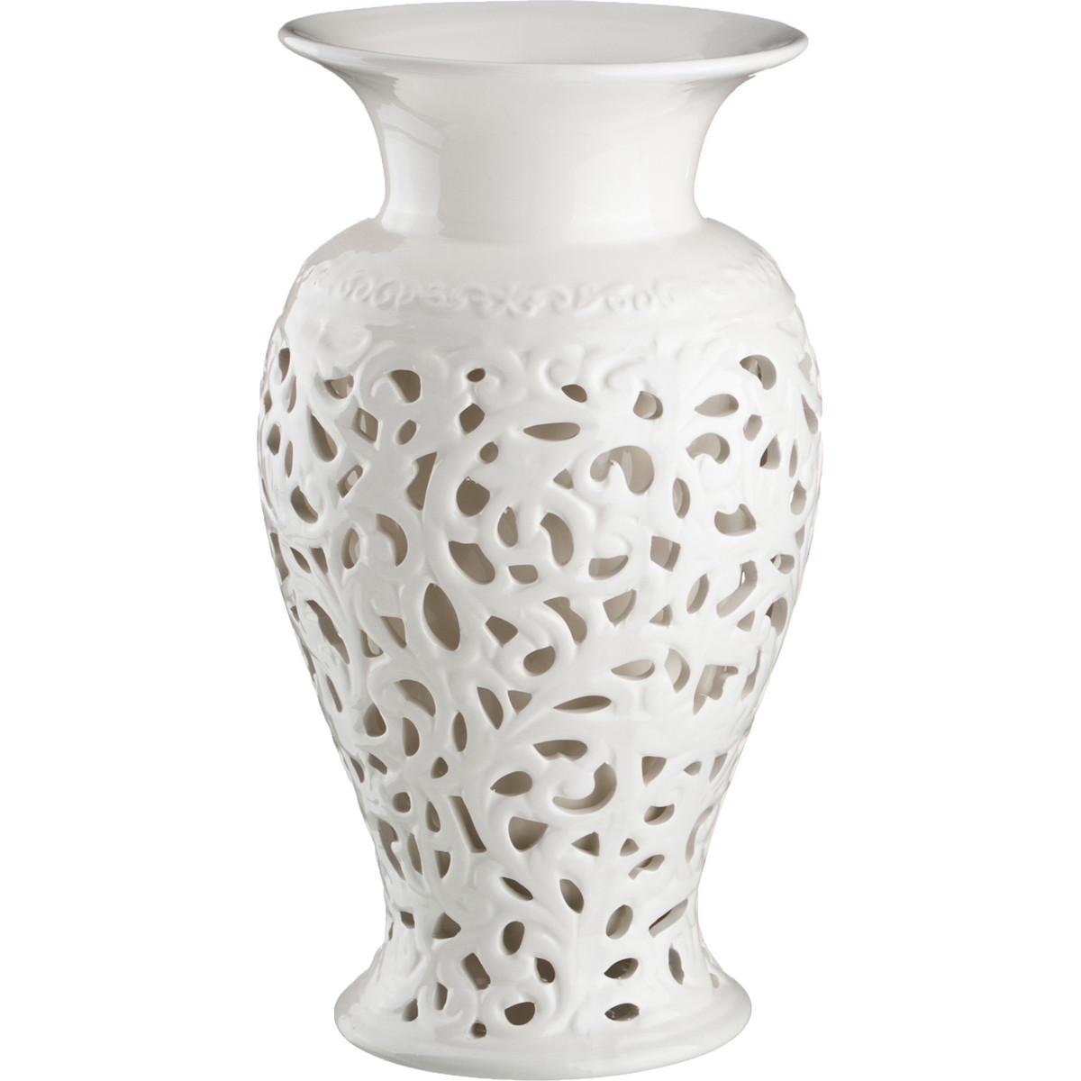 Купить Вазы Lefard, Ваза Dismas (30 см), Китай, Белый, Керамика