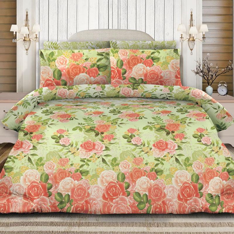 Комплекты постельного белья Любимый дом Постельное белье Ароматная Роза (2 спал.) цена