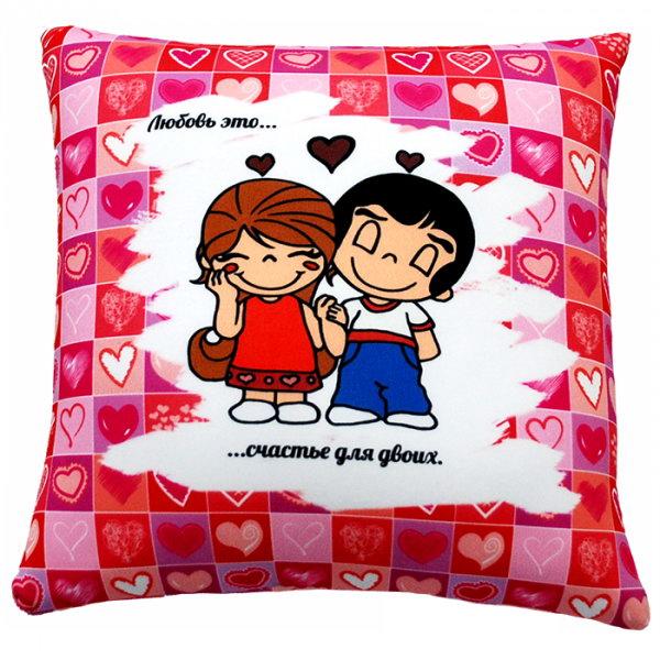 подушка с рисунком на заказ