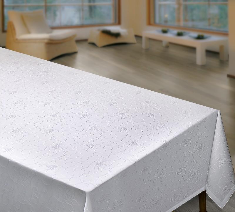 Скатерть Fascinated Цвет: Белый (130х180 см)