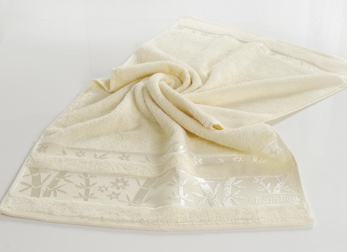Полотенца Pupilla, Полотенце Elit Цвет: Кремовый (90х150 см), Турция, Бамбук  - Купить