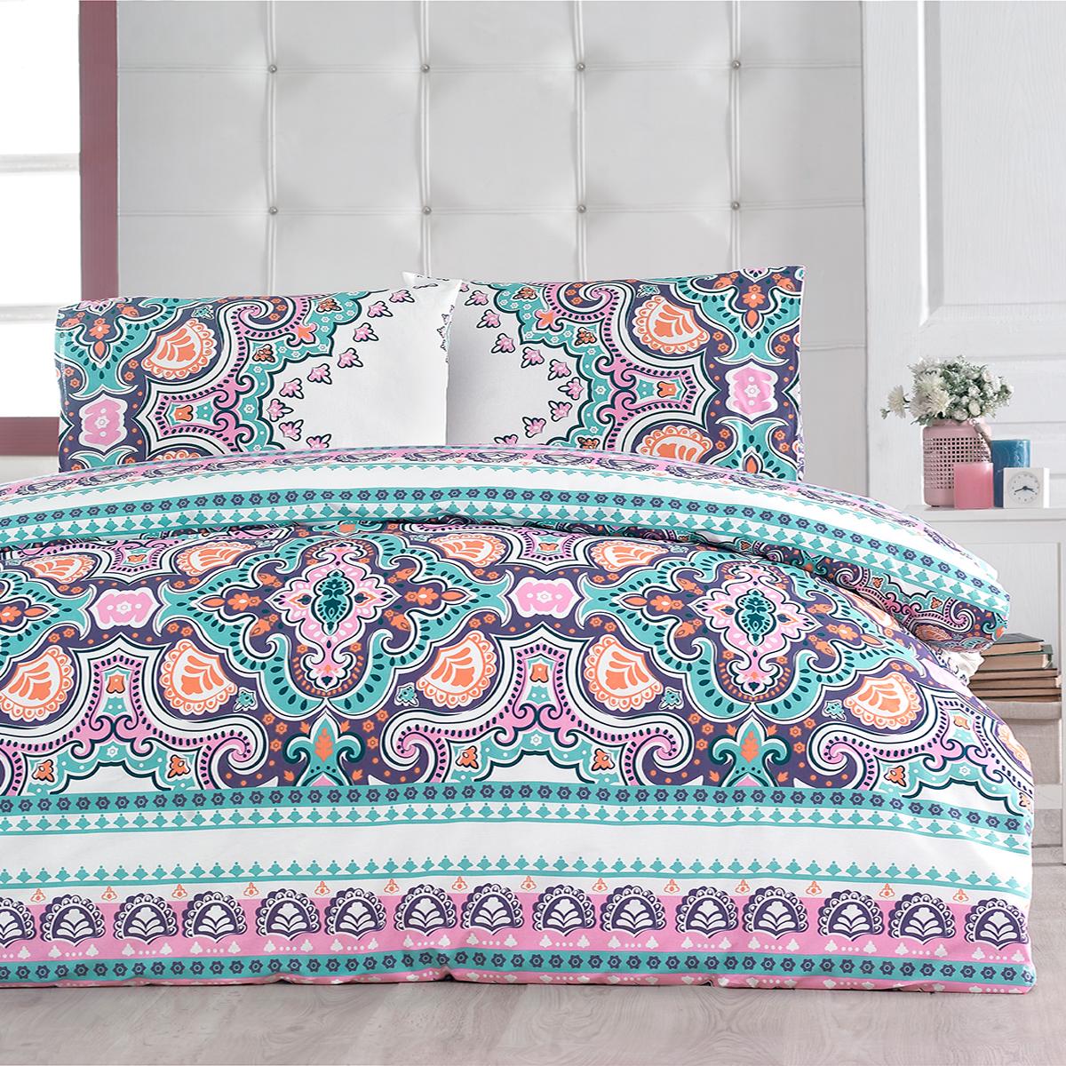 Комплекты постельного белья Arya Постельное белье Kobe (2 сп. евро) постельное белье arya постельное белье vanner 2 сп евро