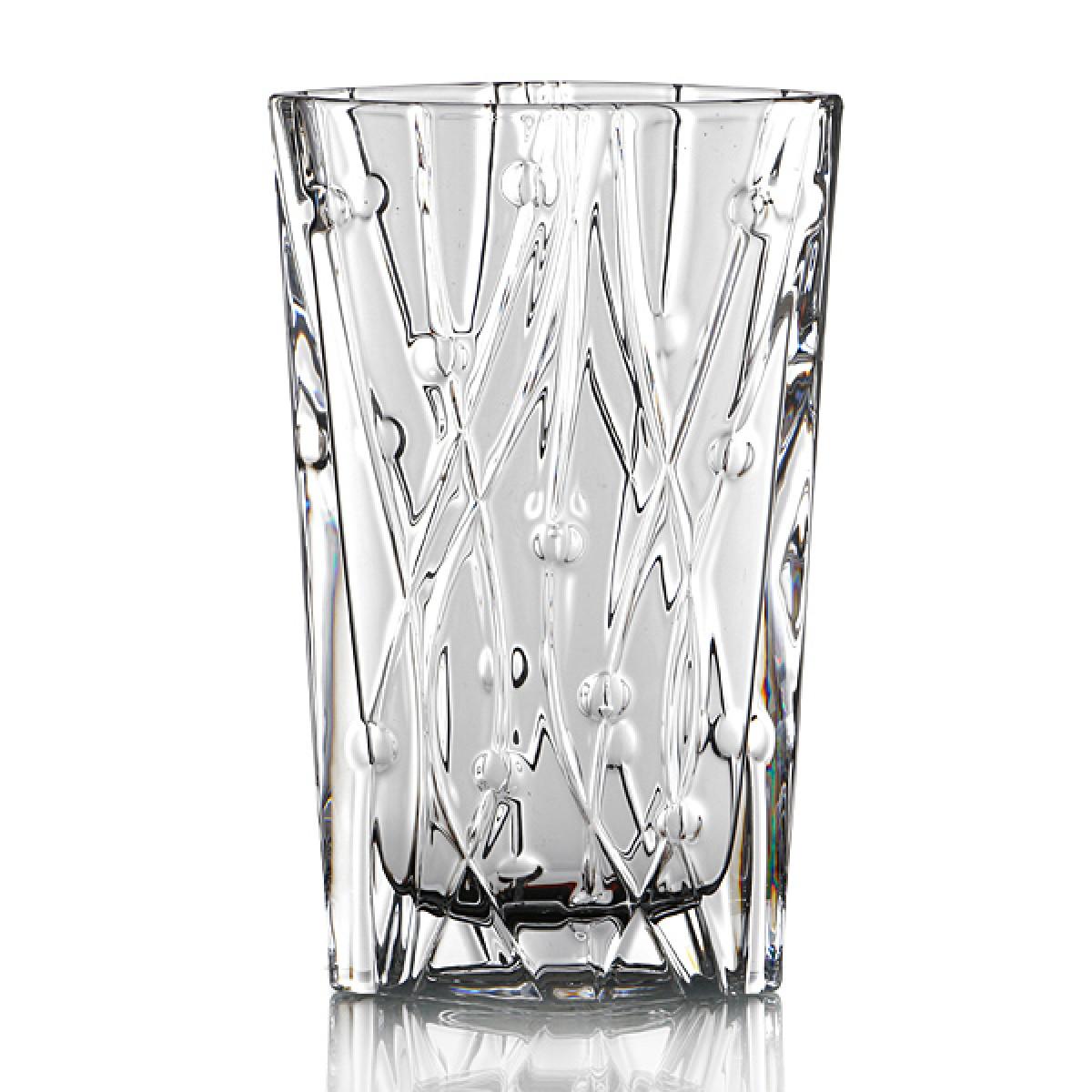 Купить Вазы Crystalite Bohemia, Ваза Steffie (31 см), Чехия, Белый, Стекло