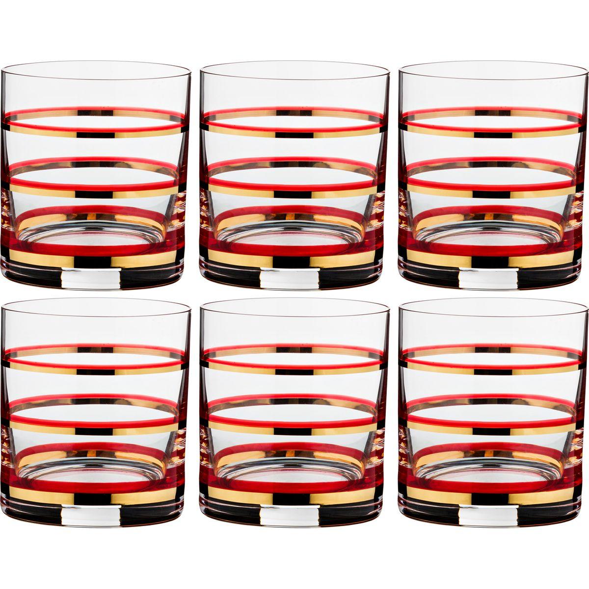 Набор Стаканов Для Виски Pover (280 мл - 6 шт) Bohemia Crystal bhi346576