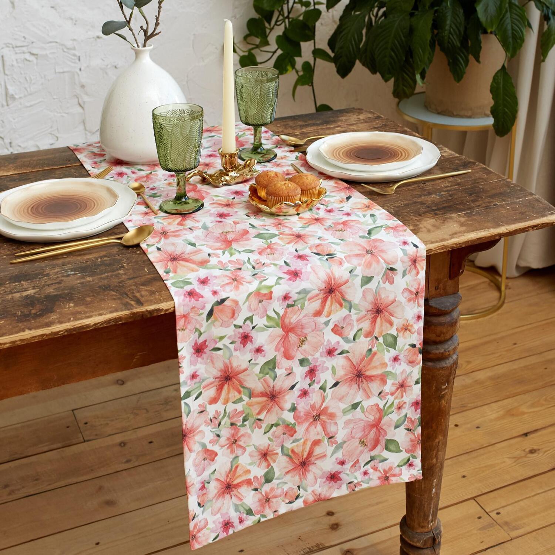 Дорожка на стол Flowers (40х149 см)