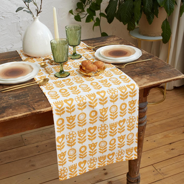 Дорожка на стол Yellow garden (40х149 см)