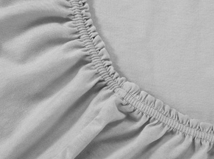 Купить Простыни Селтекс, Простыня на резинке Canna Цвет: Серый (200х200), Россия, Хлопковый трикотаж