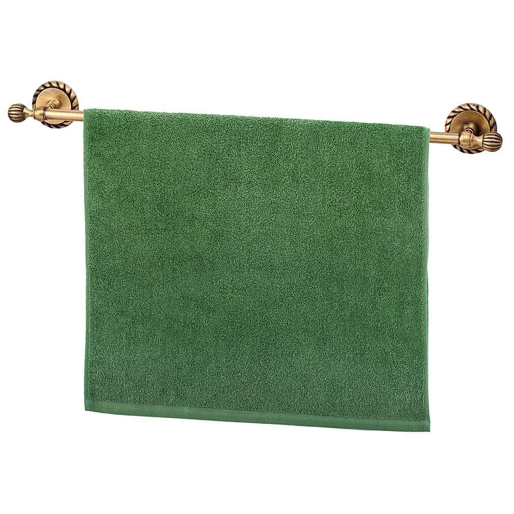 Купить Полотенца Santalino, Полотенце Carran Цвет: Зелёный (50х90 см), Россия, Махра