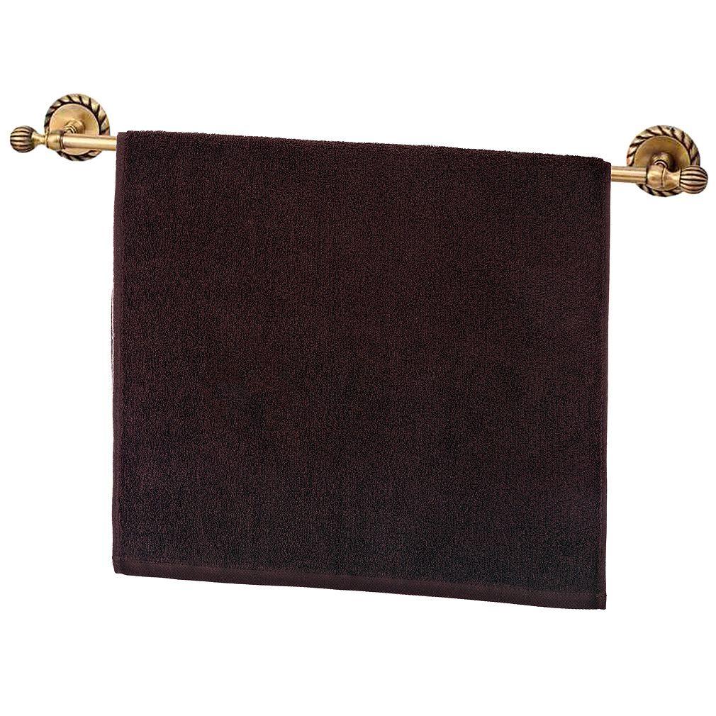 Купить Полотенца Santalino, Полотенце Civitella Цвет: Коричневый (50х90 см), Китай, Махра