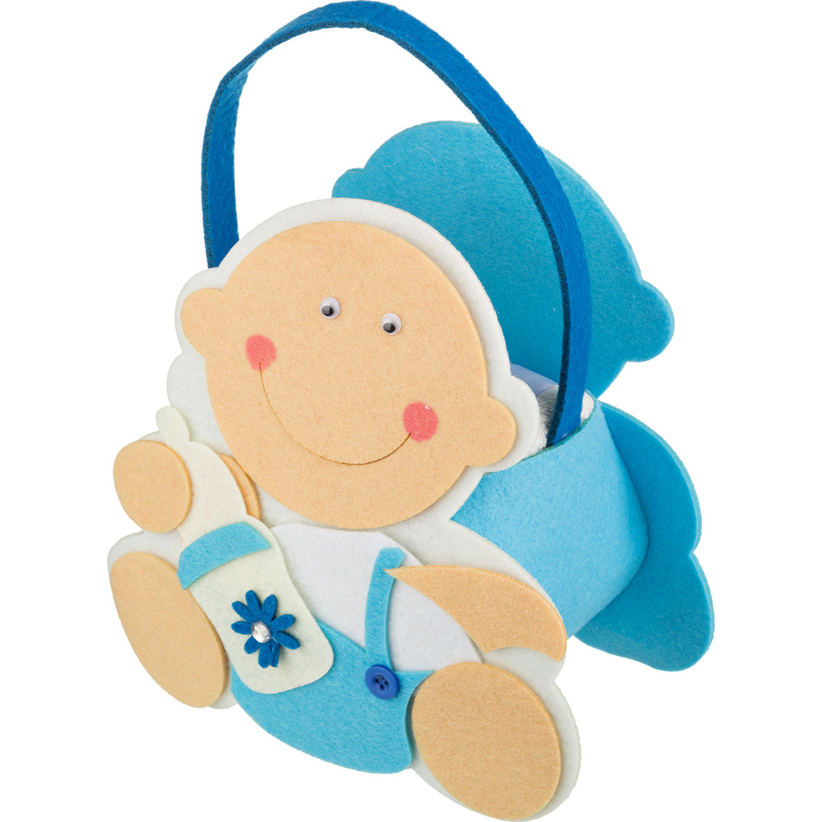Купить Полотенца Santalino, Детское полотенце Jerrard (50х90 см), Россия, Голубой, Махра