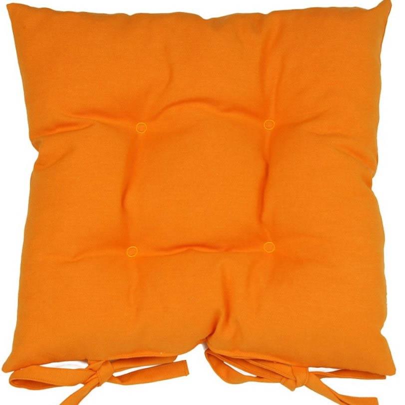 Декоративные подушки Apolena Подушка на стул Оранж (40х40)