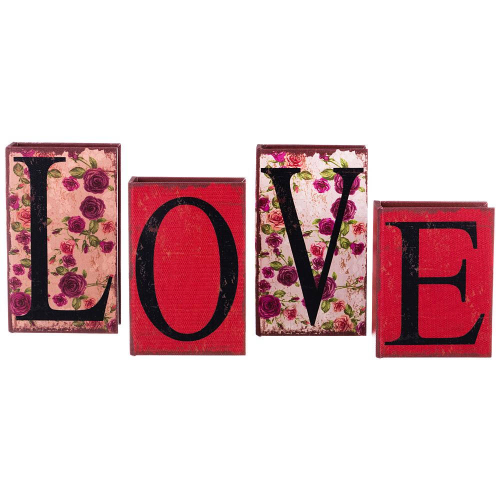 Шкатулки Lefard Шкатулка Love (4 шт) шкатулка leader 4w 4 br