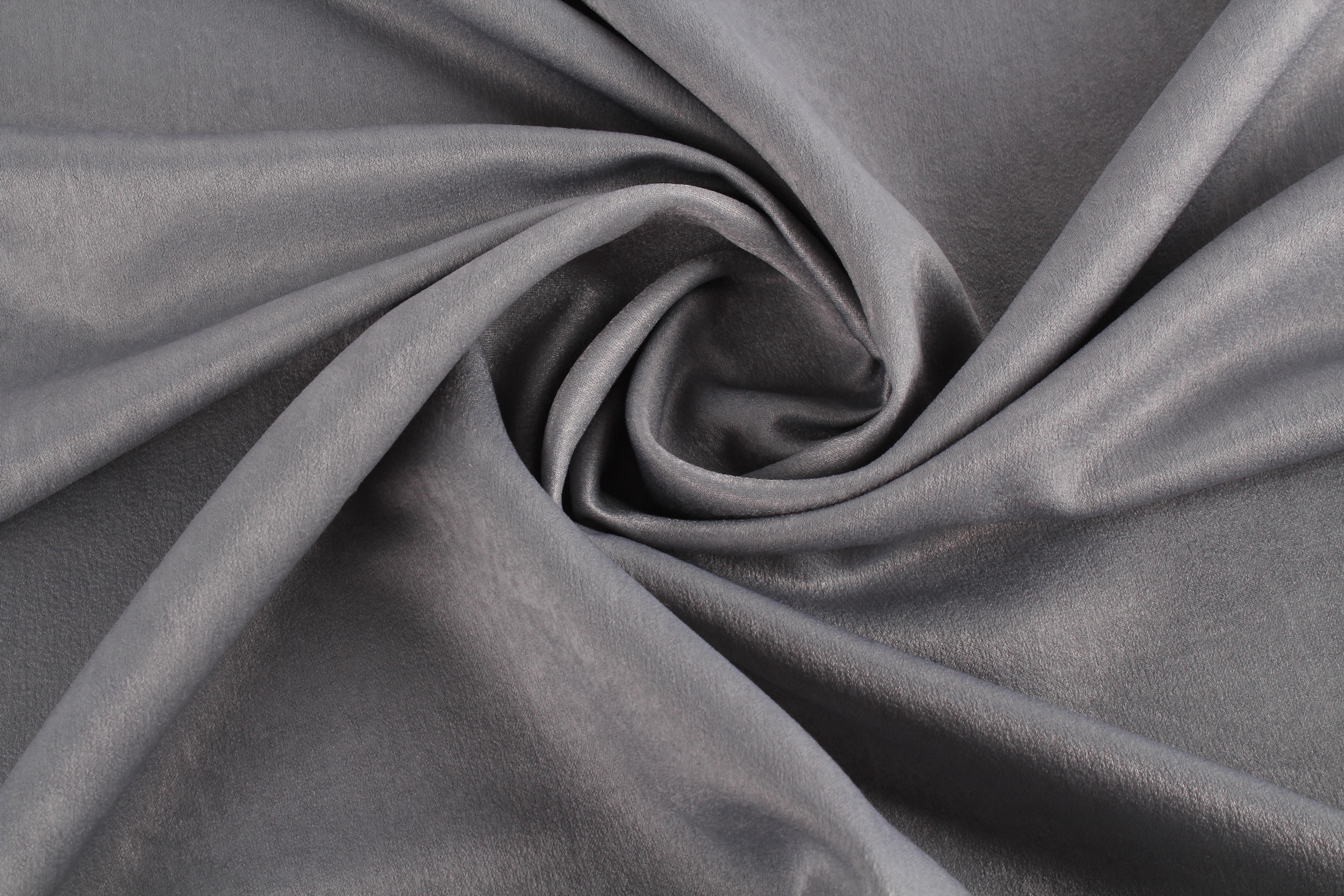 Купить Ткани TexRepublic, Материал Бархат Velvet Цвет: Серый, Китай