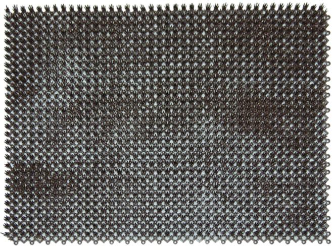 Ковры и ковровые дорожки SunStep Коврик Травка Цвет: Коричневый (42х56 см) коврик домашний sunstep цвет синий 140 х 200 х 4 см