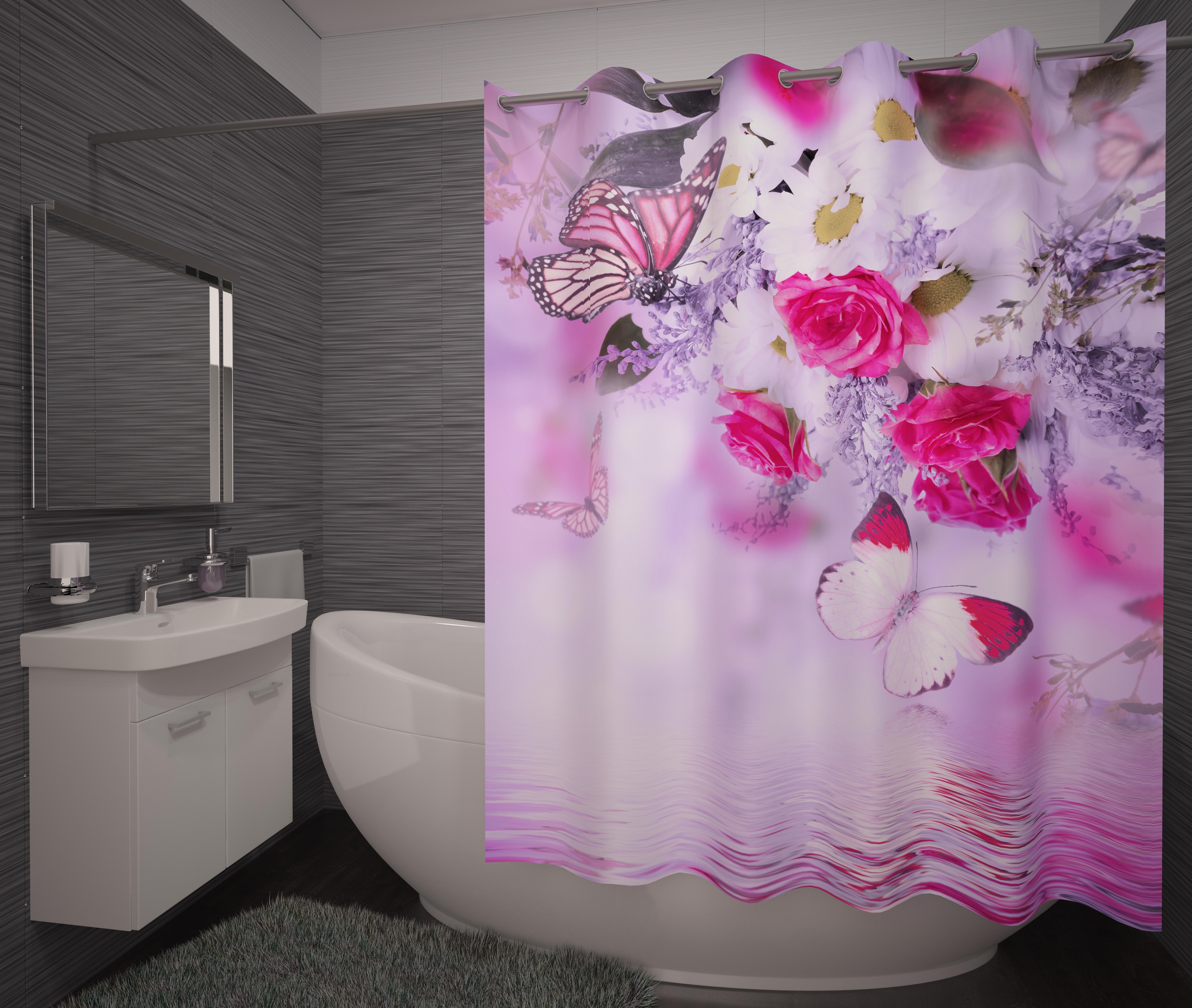 где купить Шторы и карнизы Fototende Фотошторы для ванной Stanza по лучшей цене