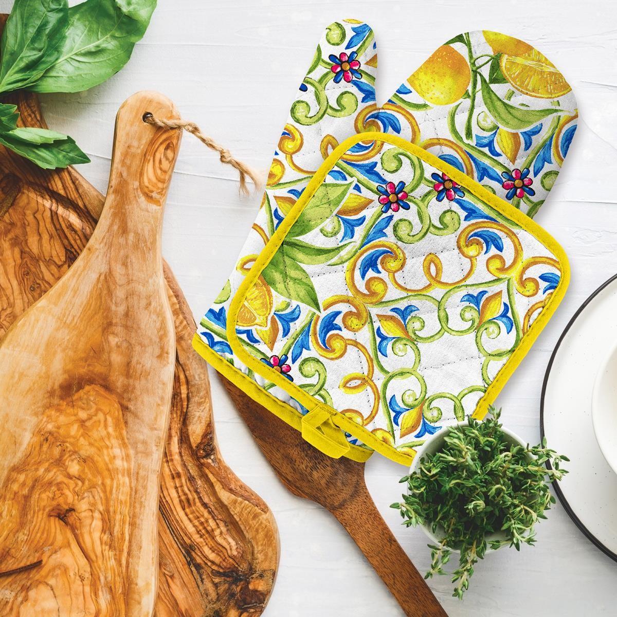 Прихватка и рукавичка Lemonade (18х28 см,18х18 см)