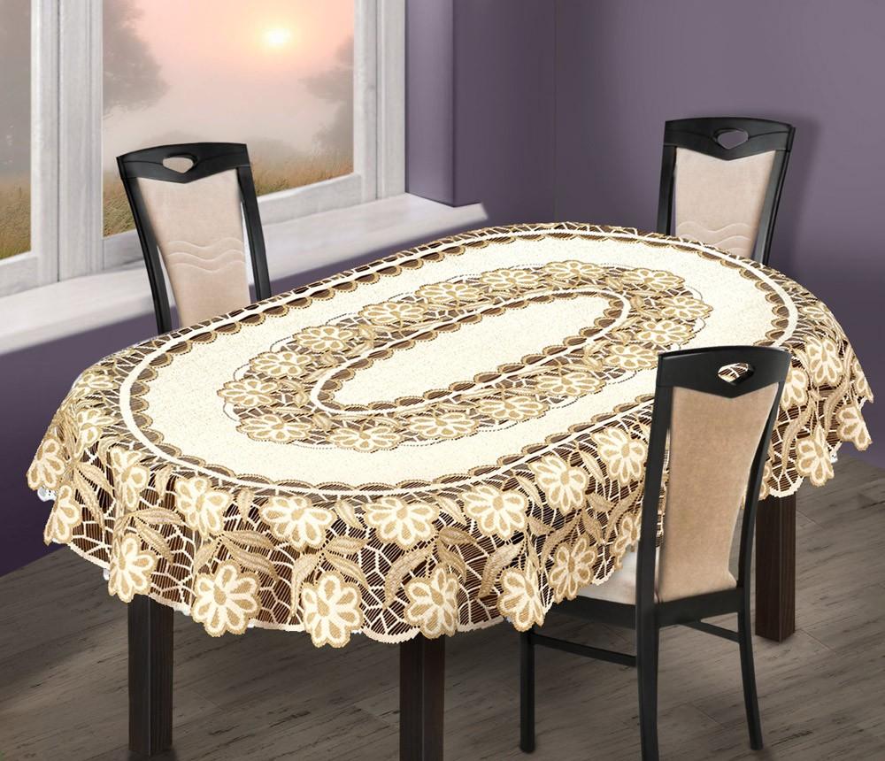Скатерть Laces Цвет: Кремово-Золотистый (150х220 см)