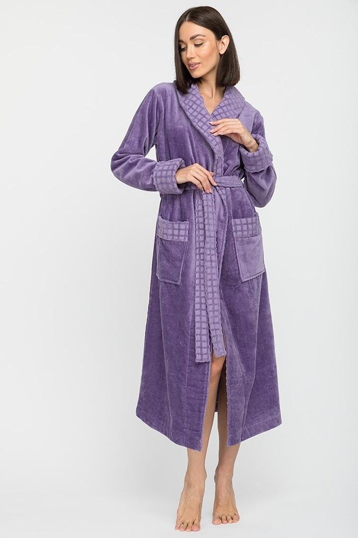 Банный халат Kimberlee Цвет: Сиреневый (S) Peche Monnaie pmn714163