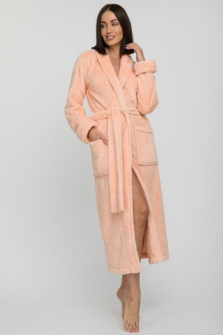 Банный халат Tendre Цвет: Персиковый (S) Peche Monnaie pmn714187