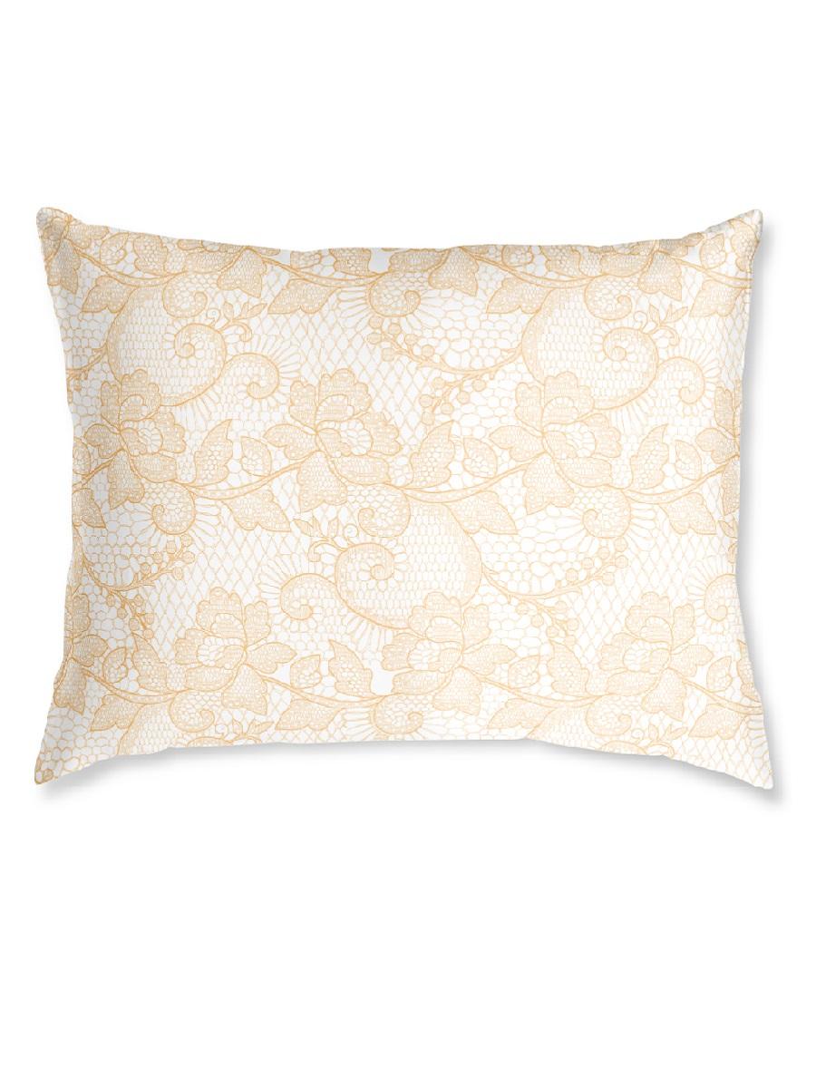 Наволочка Алансония цвет: золотой (50х70 (2 шт))