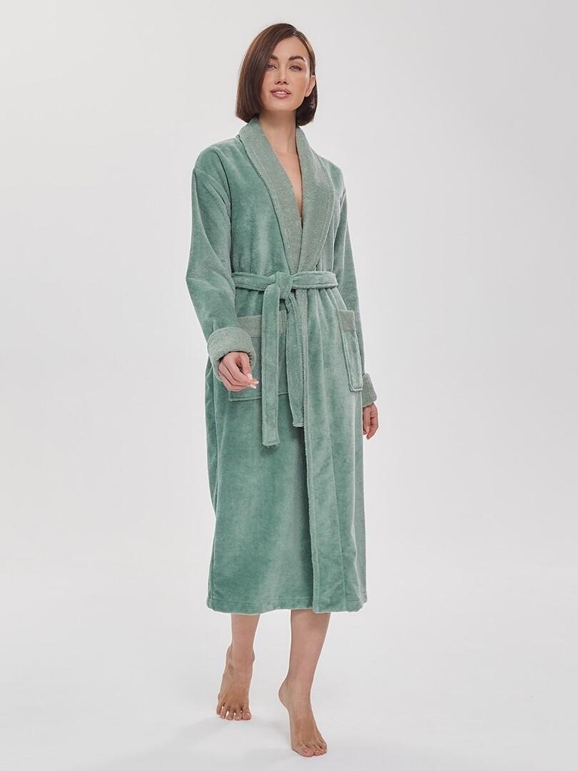 Банный халат Corwin Цвет: Мятный (M) Peche Monnaie pmn714199