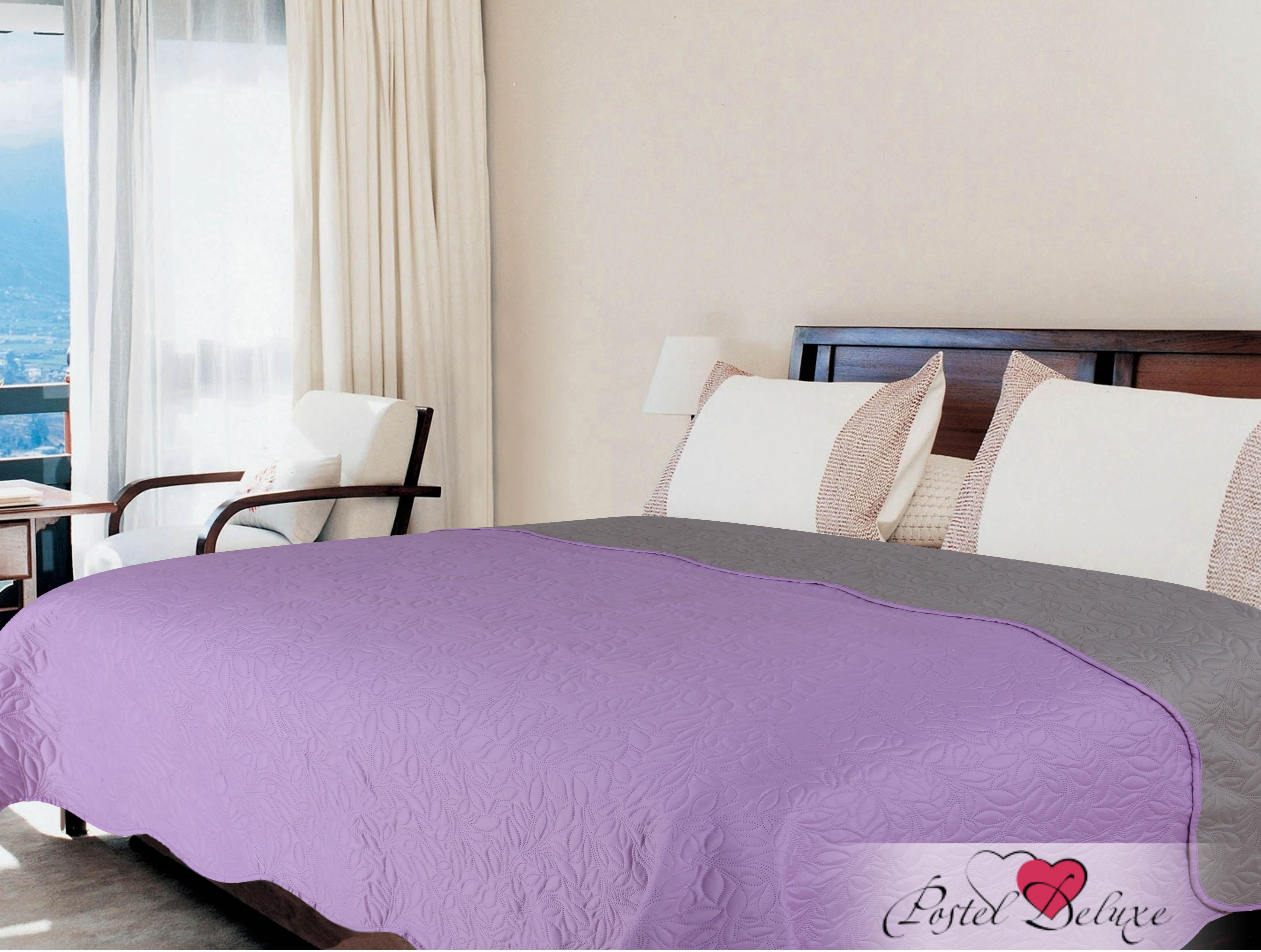Купить Пледы и покрывала Amore Mio, Покрывало Alba Цвет: Сиреневый (200х220 см), Китай, Микрофибра