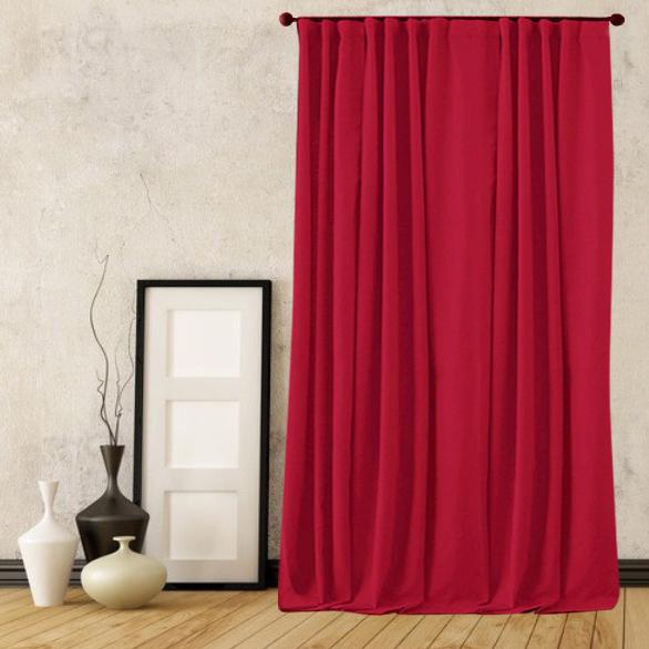 Классические шторы Carrie Цвет: Красный