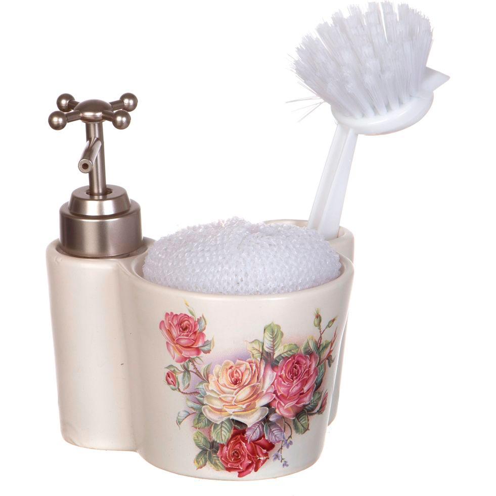 Набор для ванной и кухни Salome (13х13х14 см) Lefard lfr394983