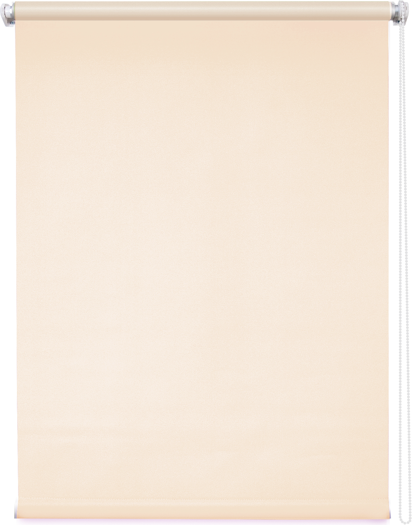 Купить Римские и рулонные шторы Уют, Рулонные шторы Плайн Цвет: Пудровый, Россия, Персиковый, Портьерная ткань