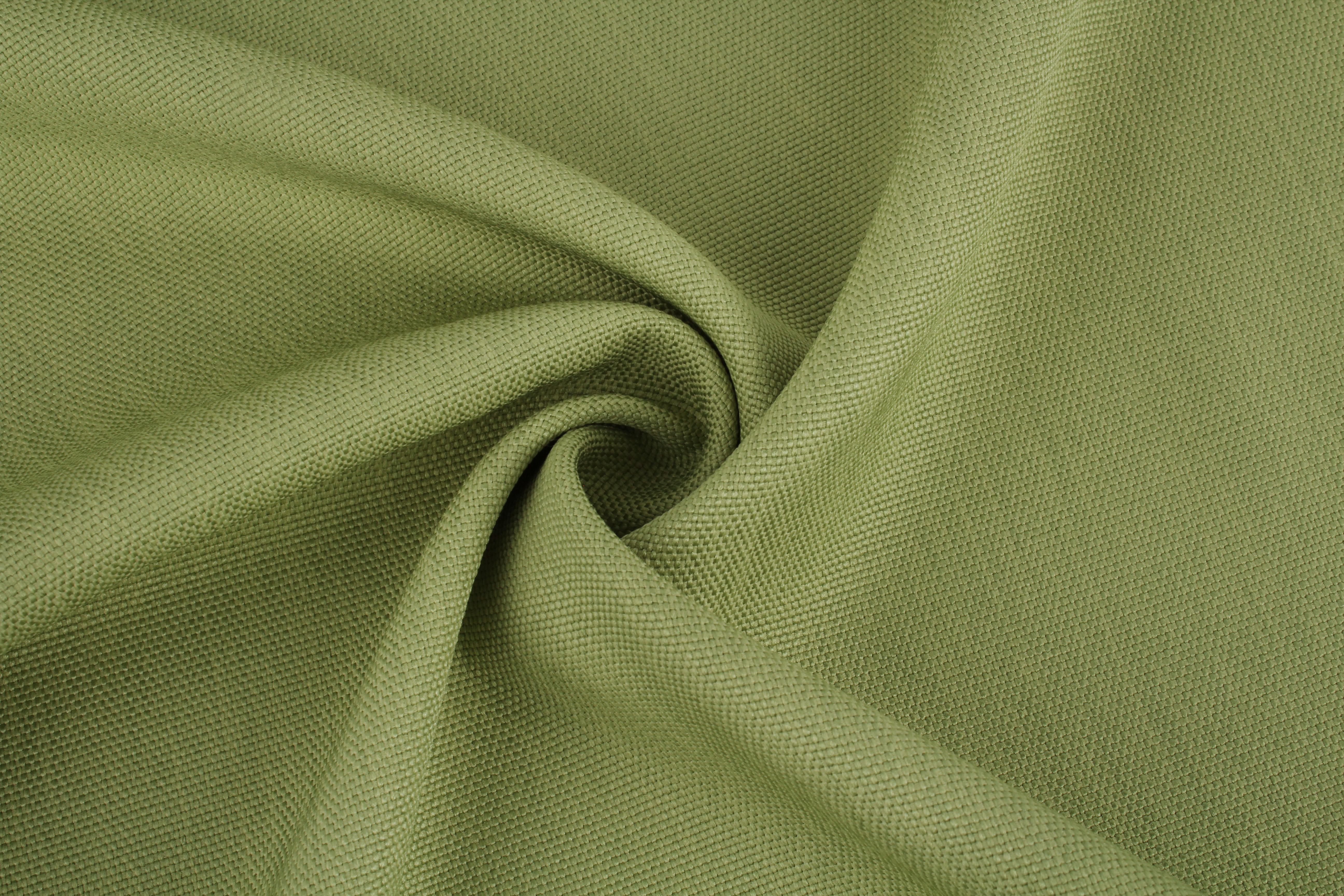 Купить Ткани TexRepublic, Материал Рогожка Linen Цвет: Зеленый, Турция