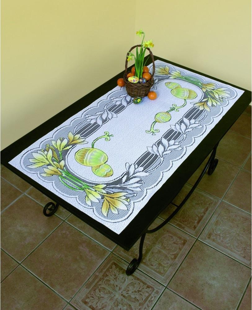 Скатерти и салфетки Wisan Дорожка на стол Wielkanoc (60х120 см) wisan салфетка дорожка кшиштов цвет золотистый 60х120 см