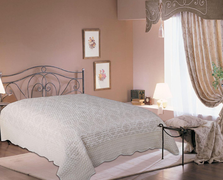 Купить Пледы и покрывала Amore Mio, Покрывало Damask (220х240 см), Китай, Белый, Синтетический сатин, Синтетический велюр