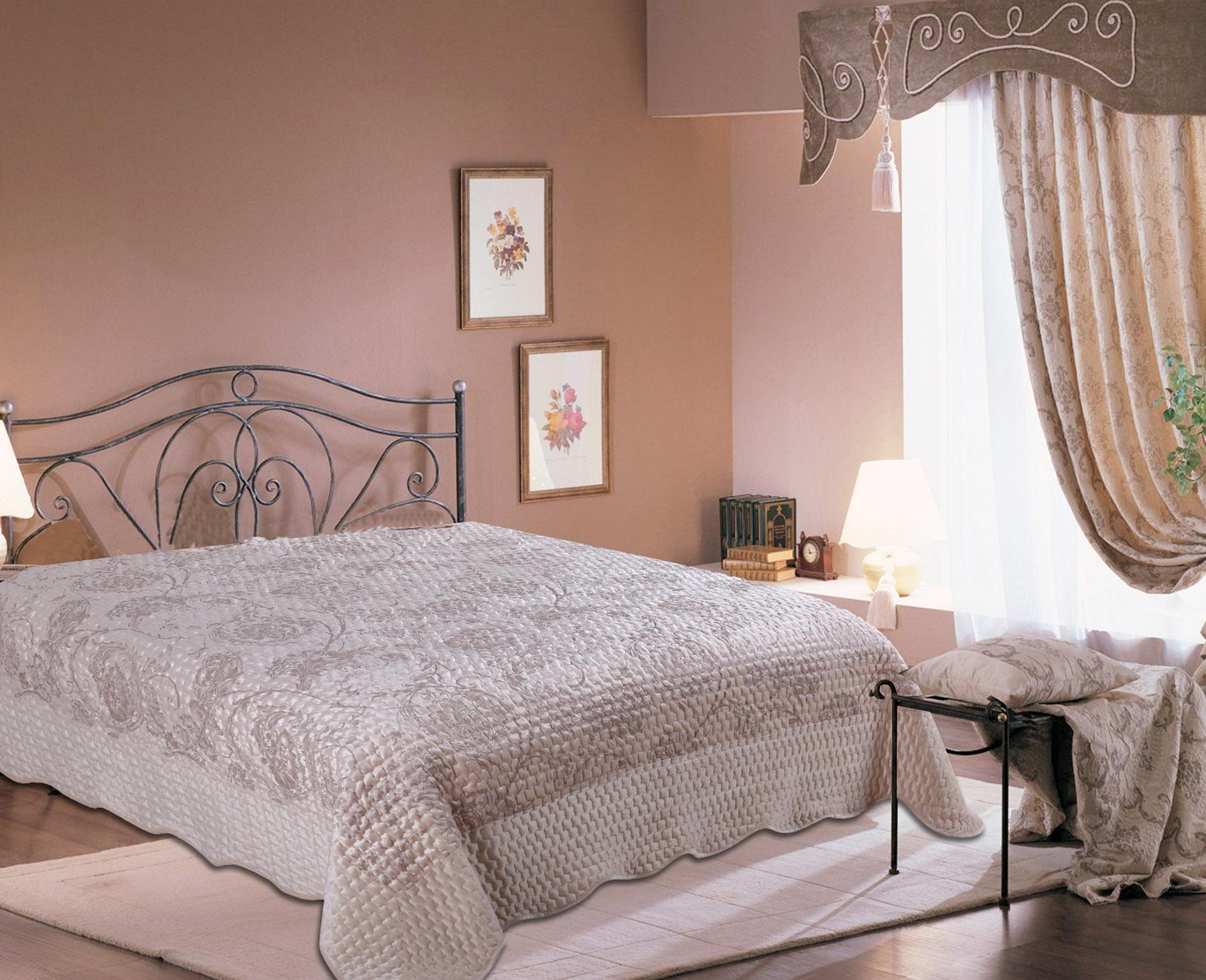 Купить Пледы и покрывала Amore Mio, Покрывало Vigo (220х240 см), Китай, Кремовый, Синтетический сатин, Синтетический велюр