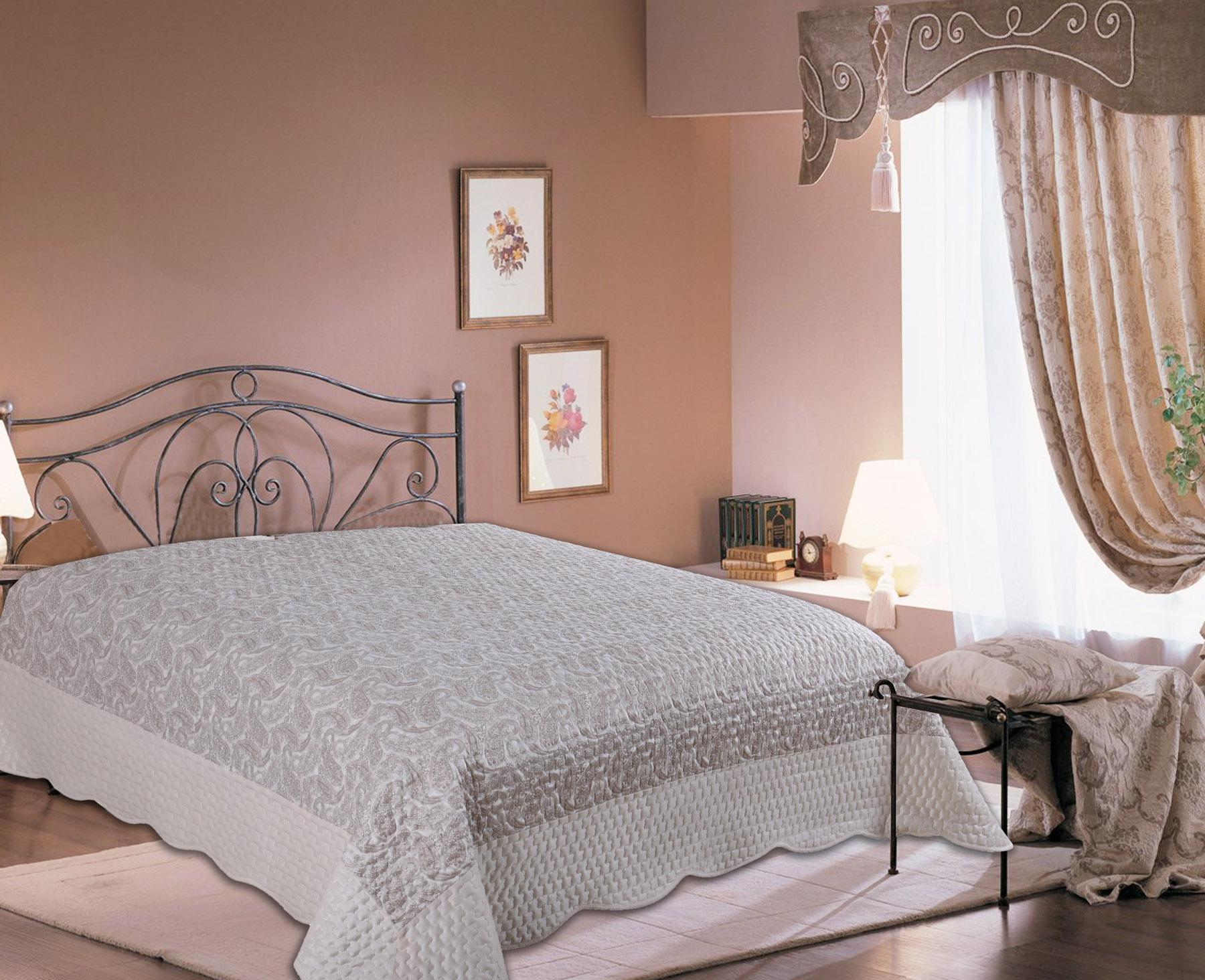Купить Пледы и покрывала Amore Mio, Покрывало Calcutta (220х240 см), Китай, Сиреневый, Синтетический сатин, Синтетический велюр