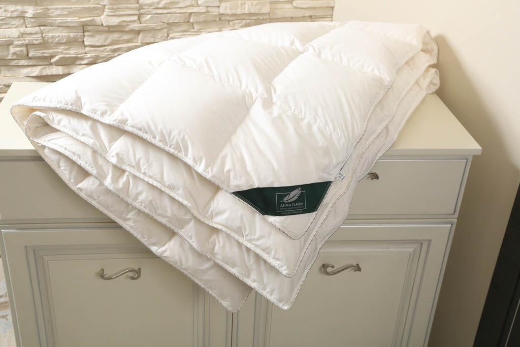 Одеяла ANNA FLAUM Одеяло Sahne Цвет: Сливочный Всесезонное (150х200 см) одеяло gg merino wool grass всесезонное 150х200 см