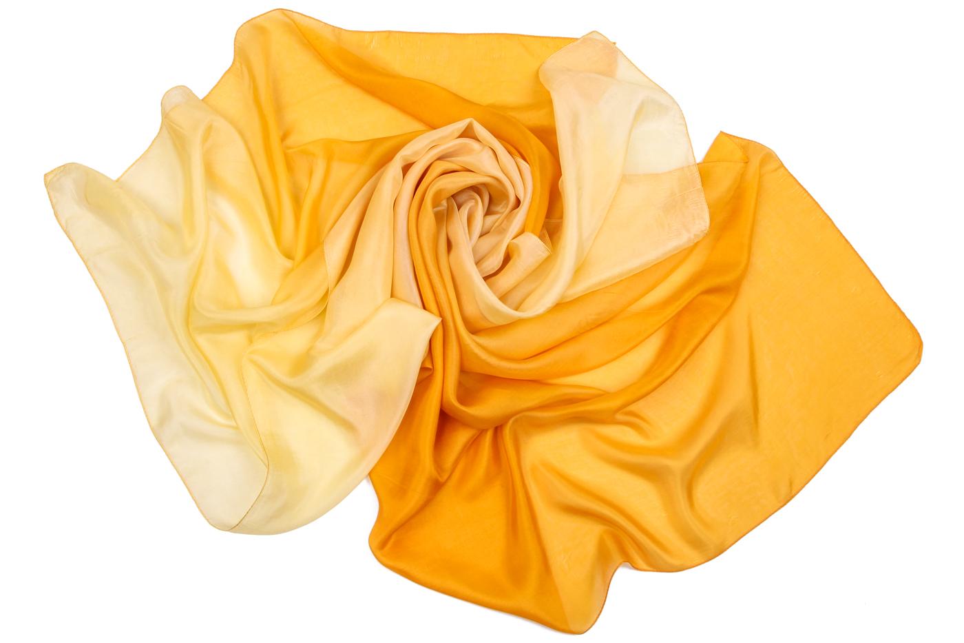 Накидка-палантин Tanner Цвет: Желтый (100х180 см) фото