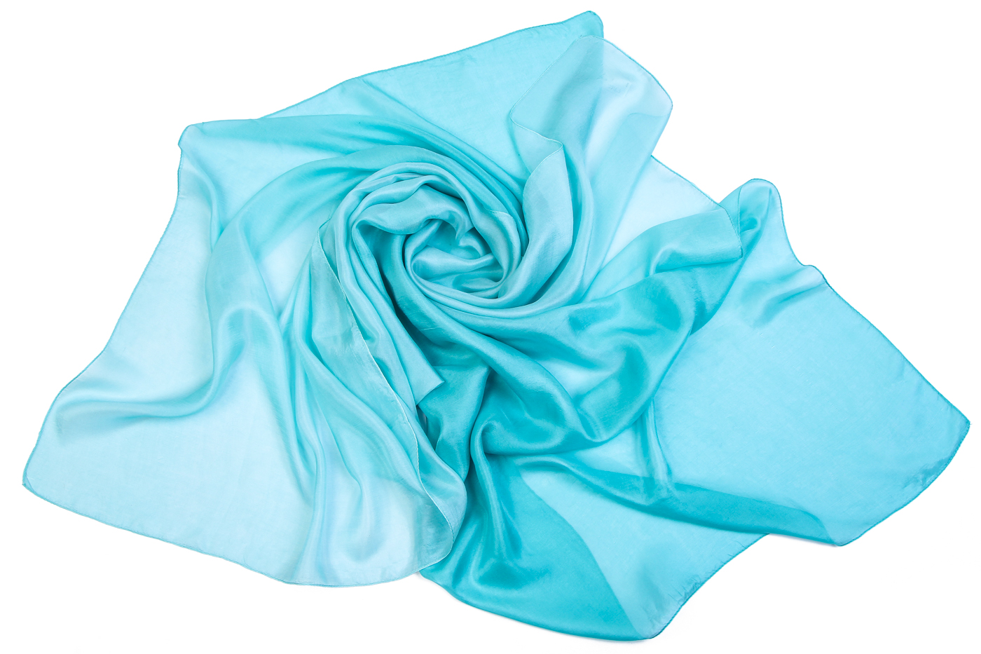 Накидка-палантин Michah Цвет: Голубой (100х180 см) фото