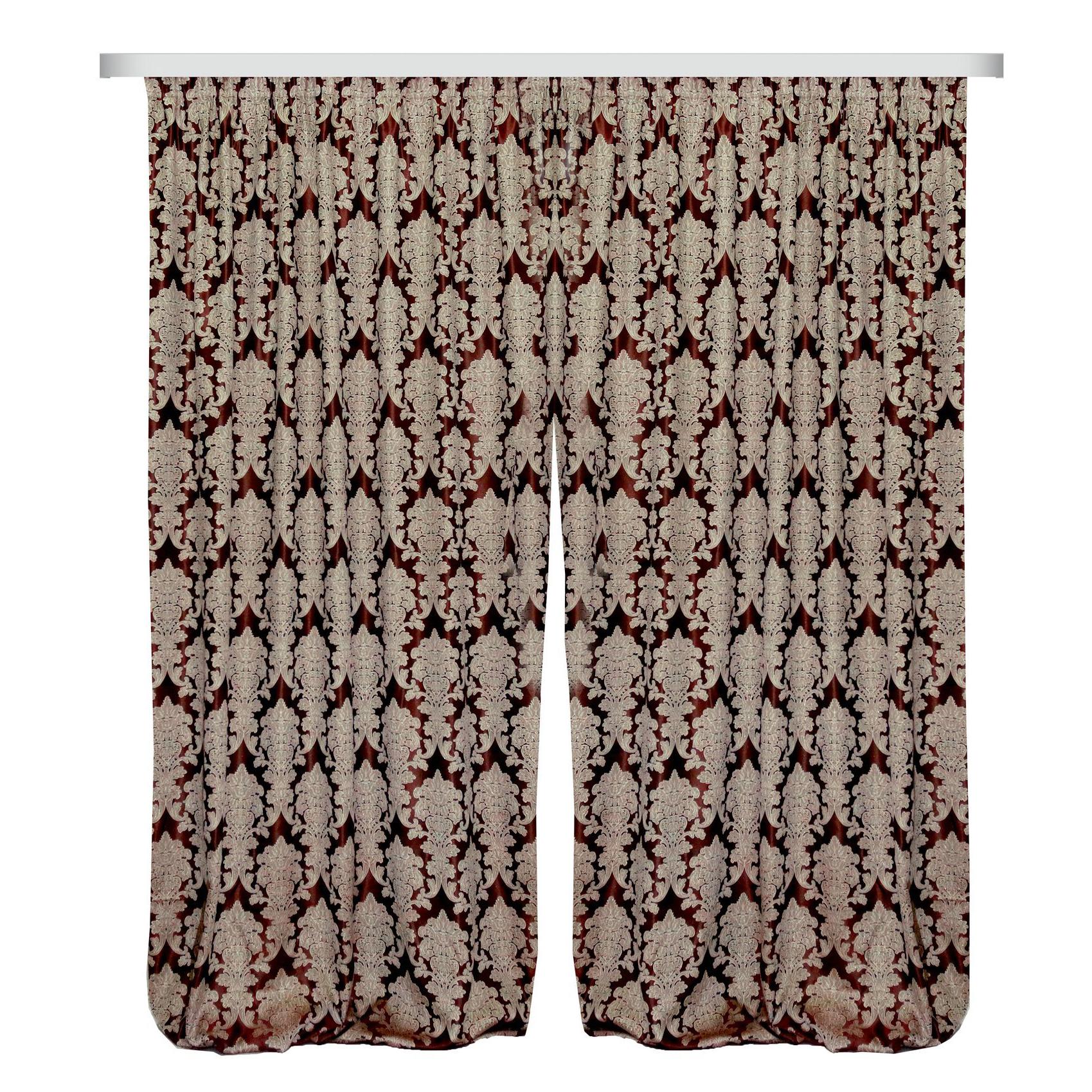 Купить Шторы Zlata Korunka, Классические шторы Betony, Россия, Портьерная ткань