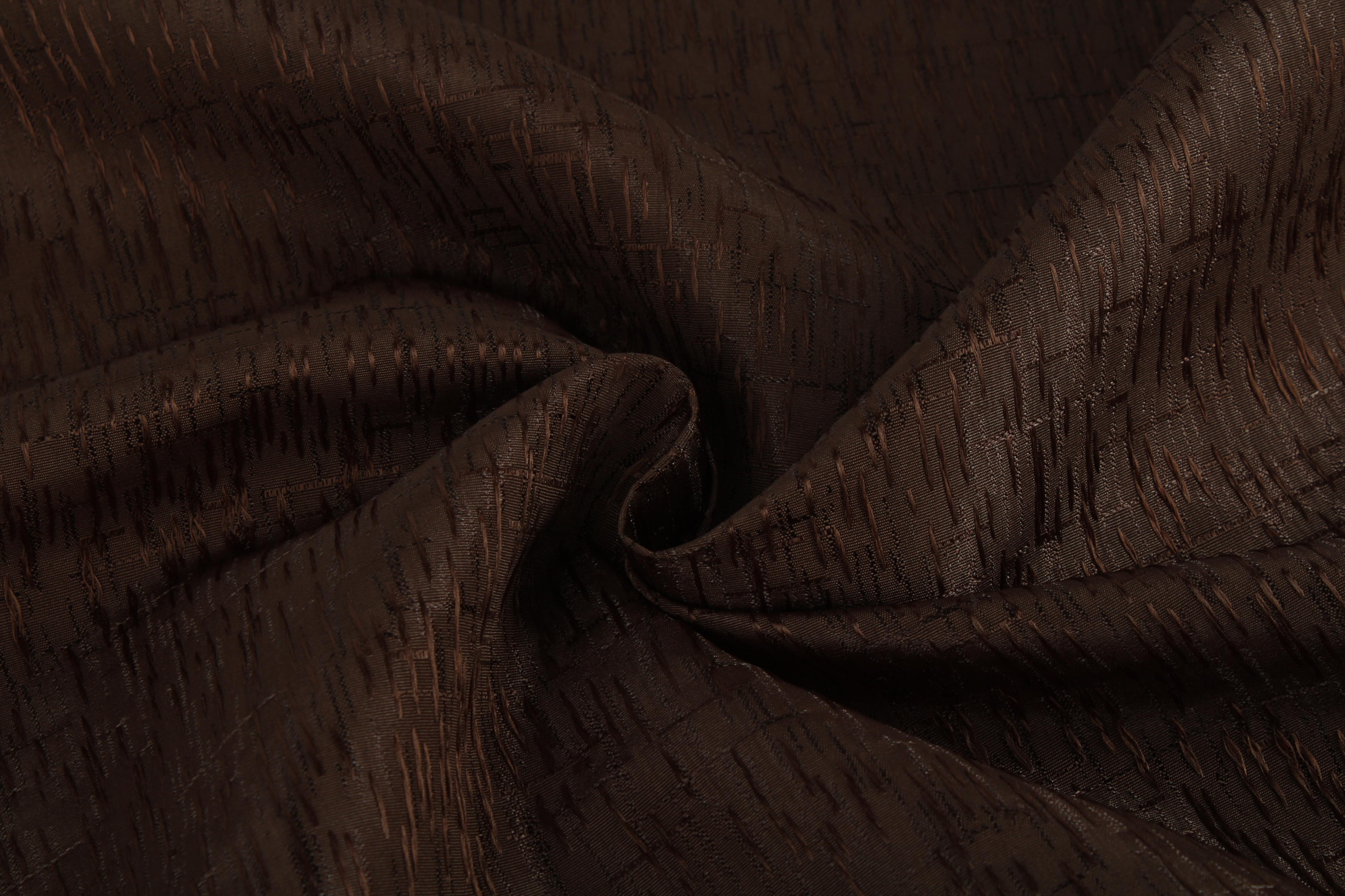 Купить Ткани TexRepublic, Материал Жаккард Birch Цвет: Венге, Китай, Коричневый