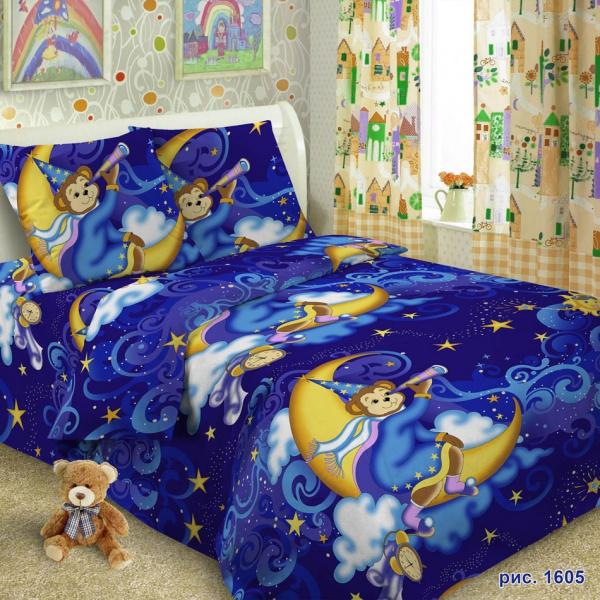 детское постельное белье Кот Б...