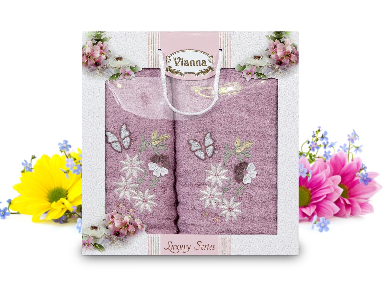 Купить Полотенца Vianna, Полотенце Dani (50х90 см, 70х140 см), Турция, Махра