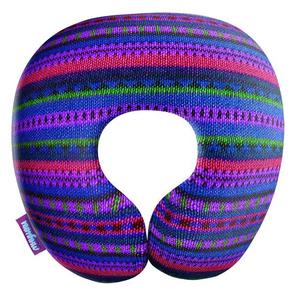 Декоративная подушка Бабушкино Вязание Цвет: Фиолетовый (34х34) фото