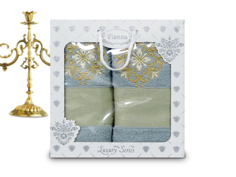 Купить Полотенца Vianna, Полотенце Dismas (50х90 см, 70х140 см), Турция, Махра