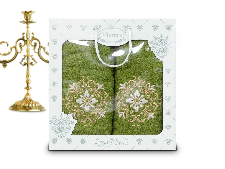 Купить Полотенца Vianna, Полотенце Farah (50х90 см, 70х140 см), Турция, Махра