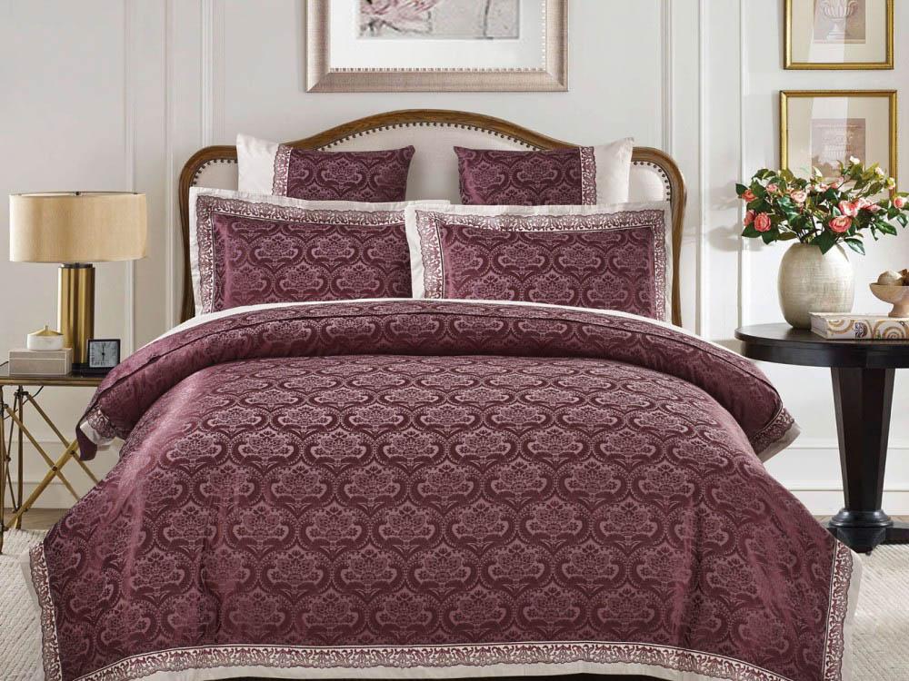 где купить Комплекты постельного белья Asabella Постельное белье Magnolia (2 сп. евро) по лучшей цене