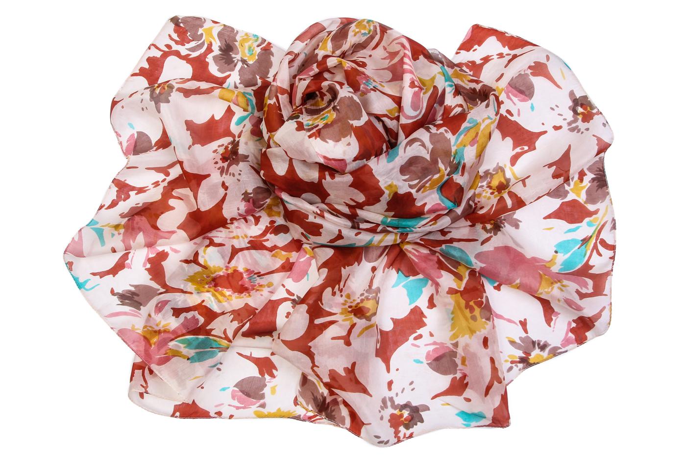 Накидка-палантин Kenton Цвет: Мультиколор (100х175 см) фото